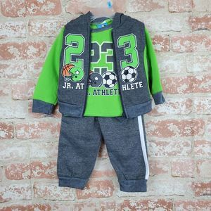 Tuff Guys Outfit 12M